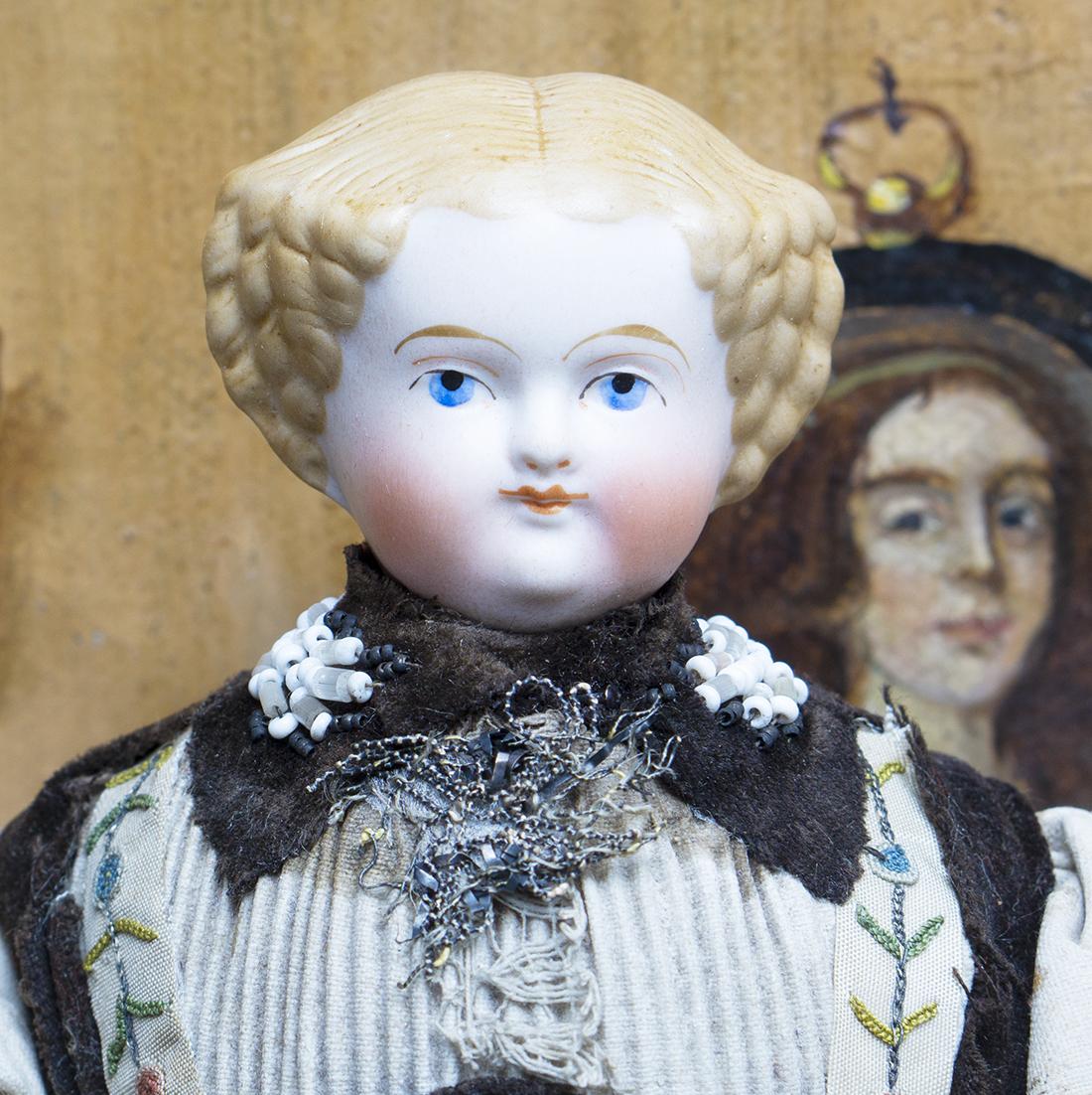 29 см Немецкая кукла 1880 г