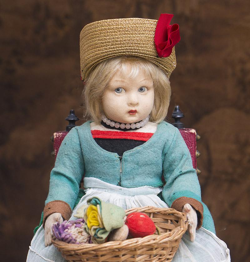 36 см Итальянская кукла Ленчи