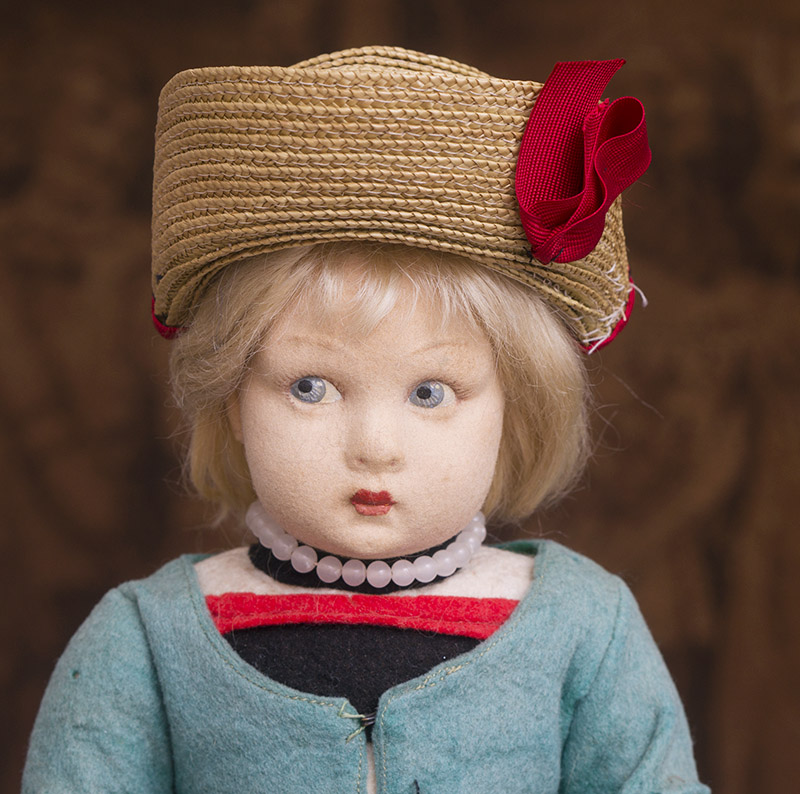 LENCI  felt doll