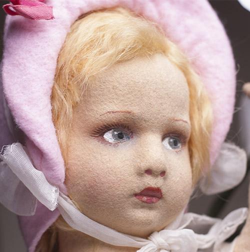 Кукла LENCI 43 cм, 1930-е годы