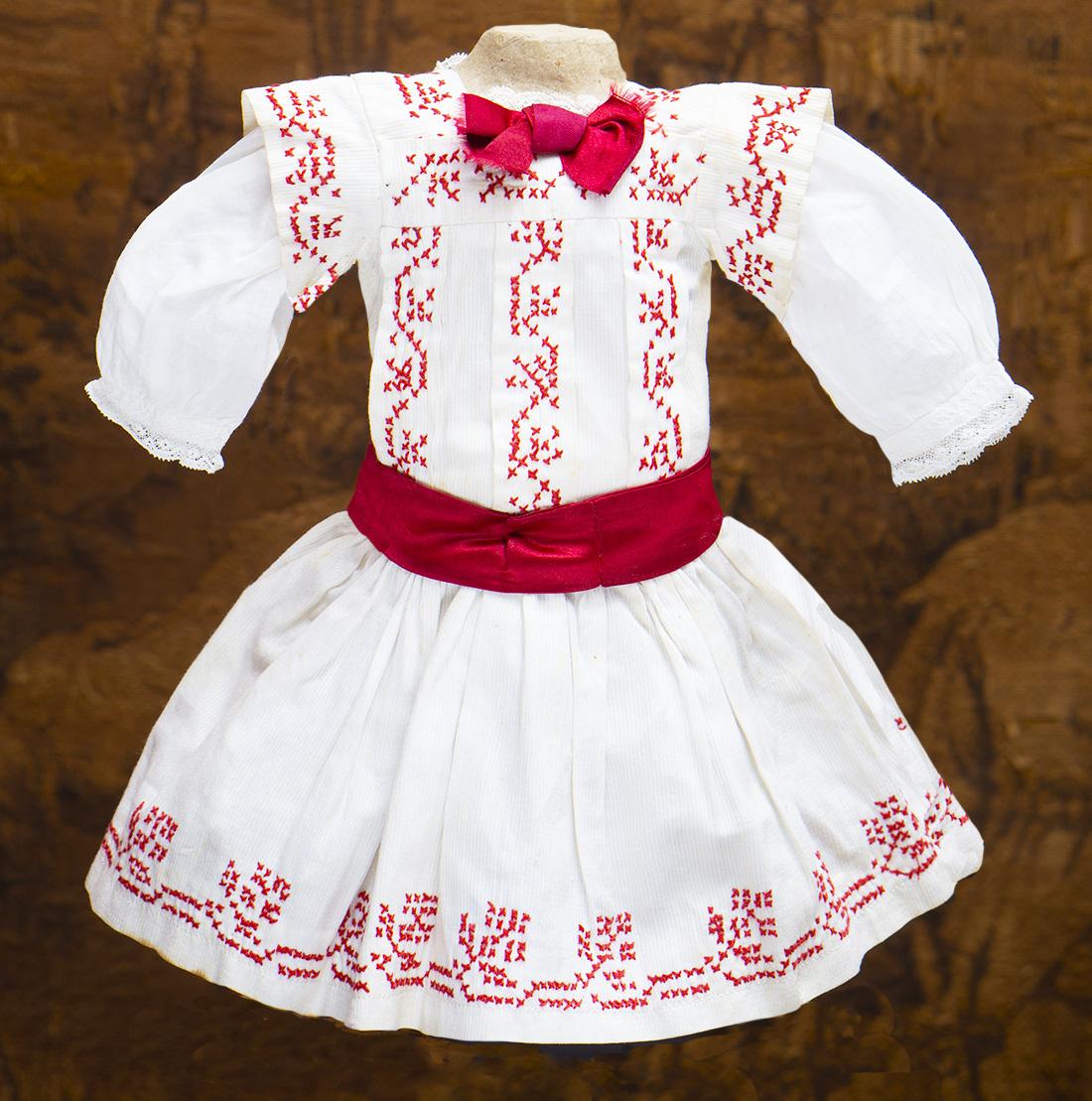 Antique Original Pinafore Dress
