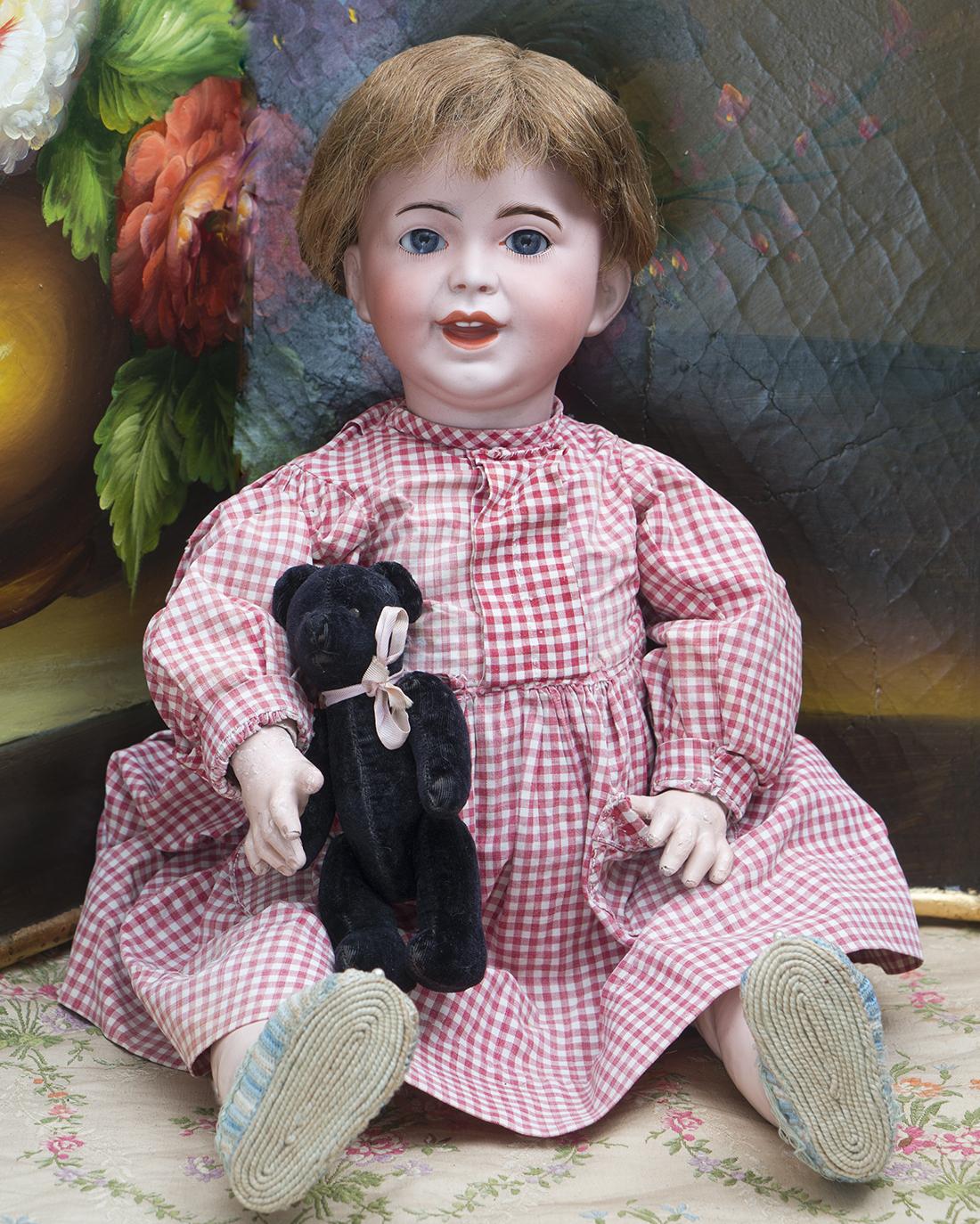 52 см Характерная кукла Смеющаяся Жюмо серия 236