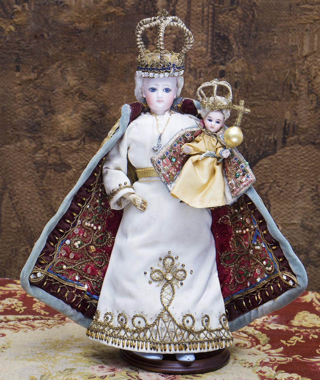 30см Mодная кукла Готье - Мадонна с младенцем