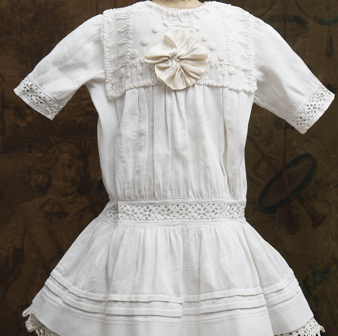 Antique Dress for 29-30in doll