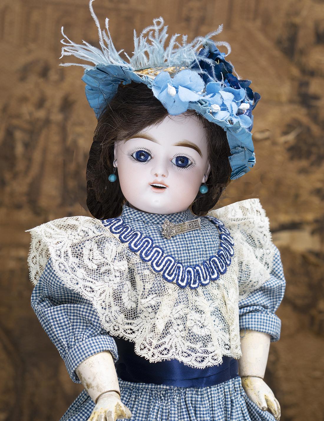 46 см  Французская кукла Gaultier Freres FG, 1880е годы