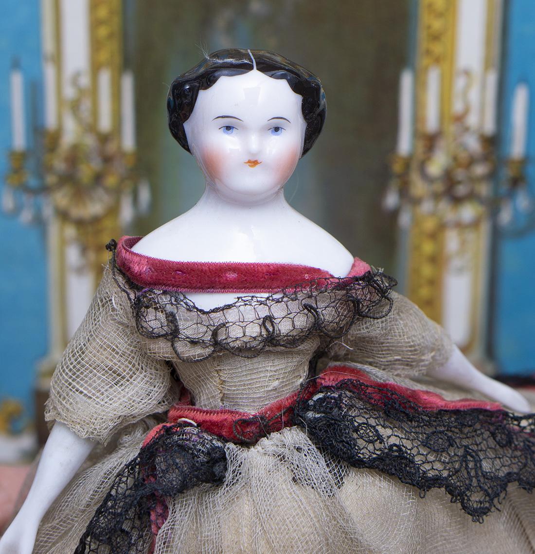 6in Antique Miniature doll
