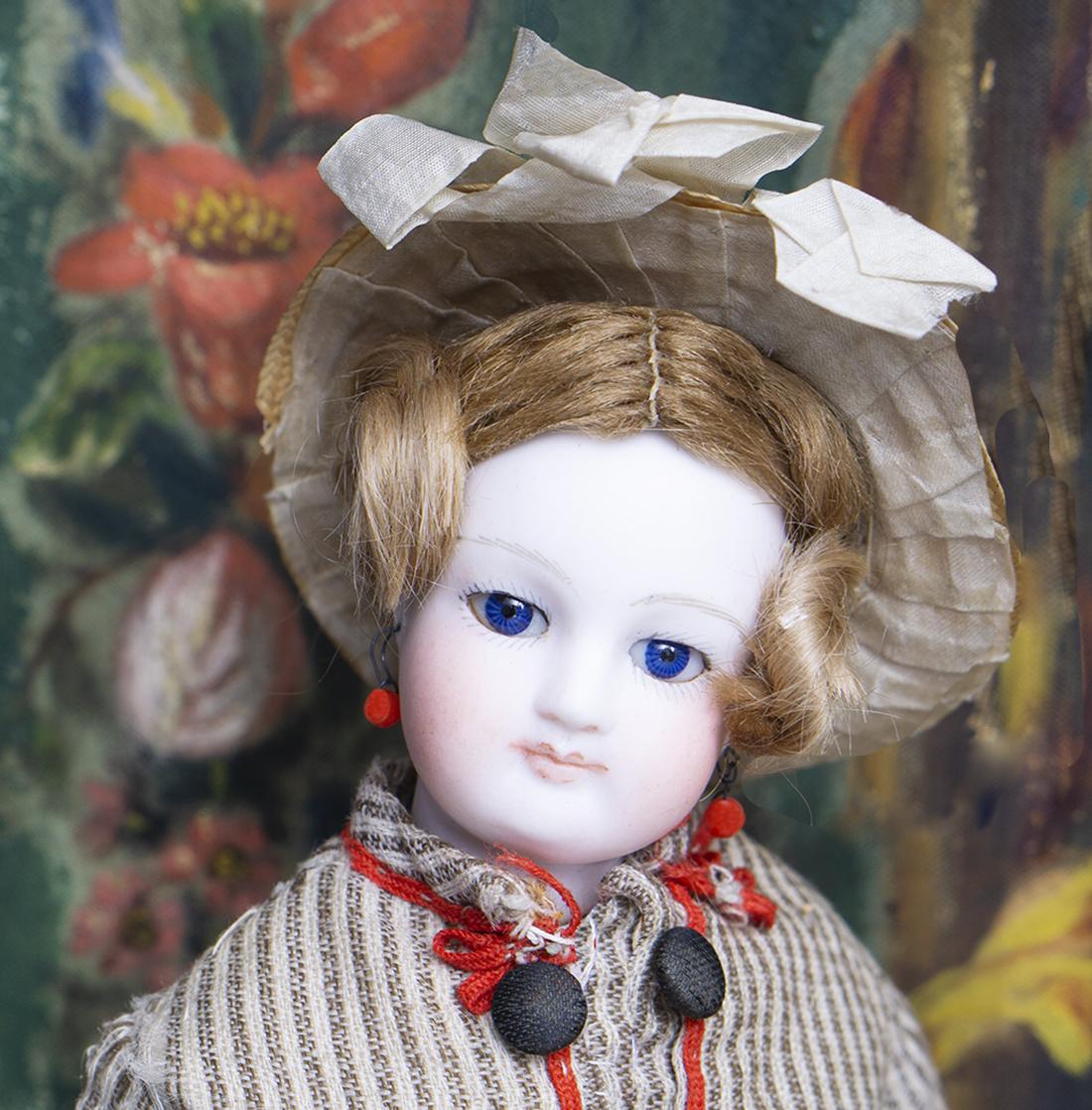 Tiny Barrois doll