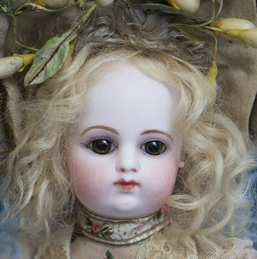 Adorable Antique French FG bebe doll