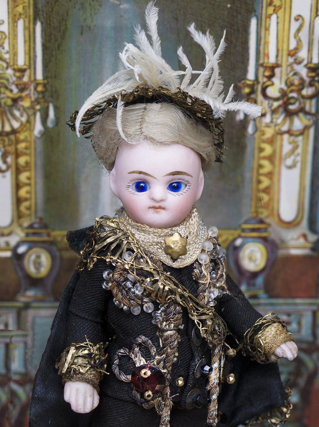 11 см Французская куколка Mignonette