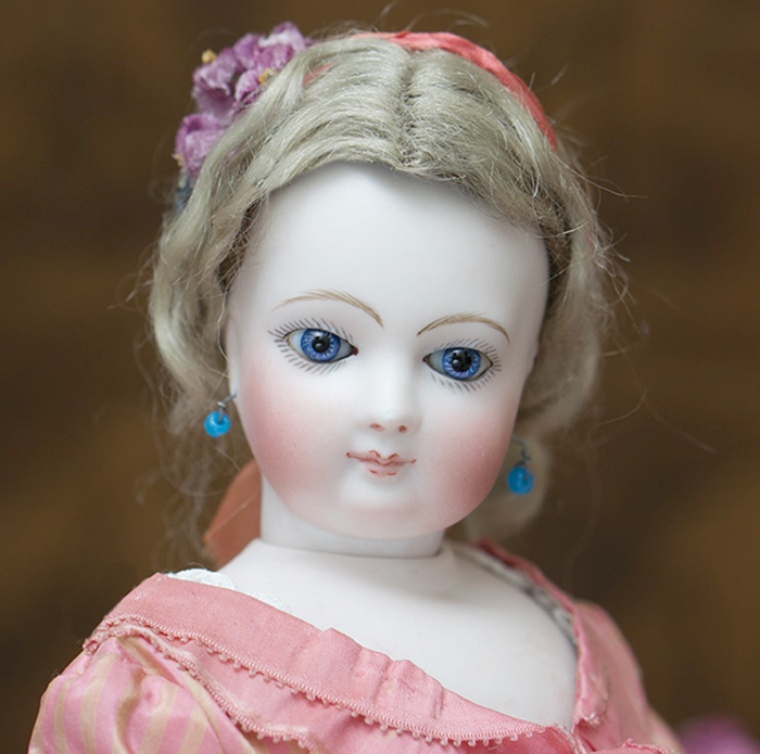 French fashion doll w/wooden body
