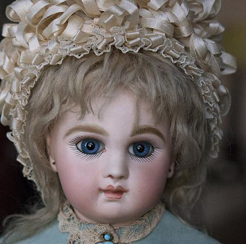 JUMEAU  bebe с закрытым ртом, 1880-е г.