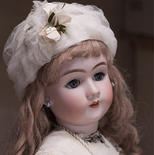 Large German doll by Handwerck