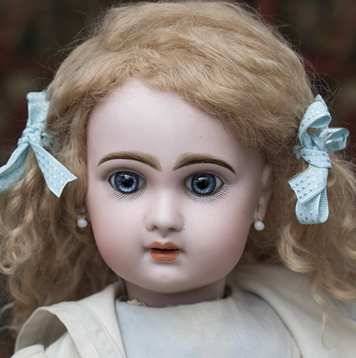 Jumeau French doll with red mark
