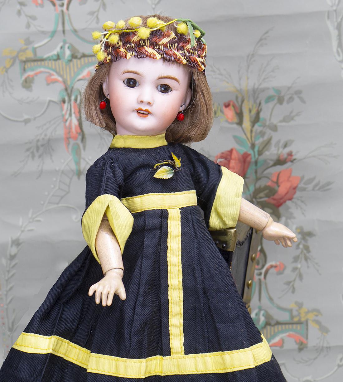 36см Французская кукла SFBJ 01 Paris в оригинальном костюме