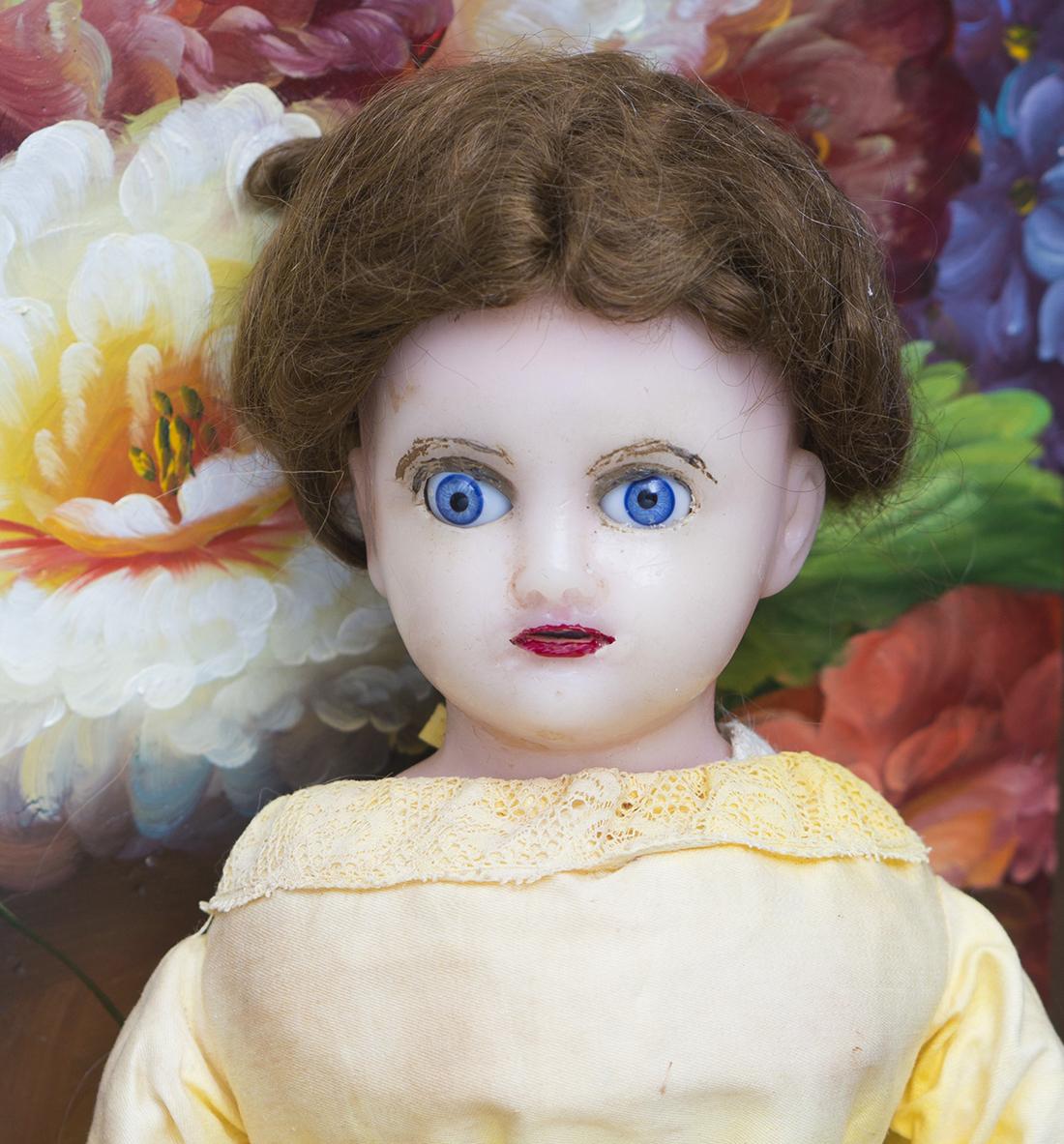 Восковая Английскмя кукла 41см