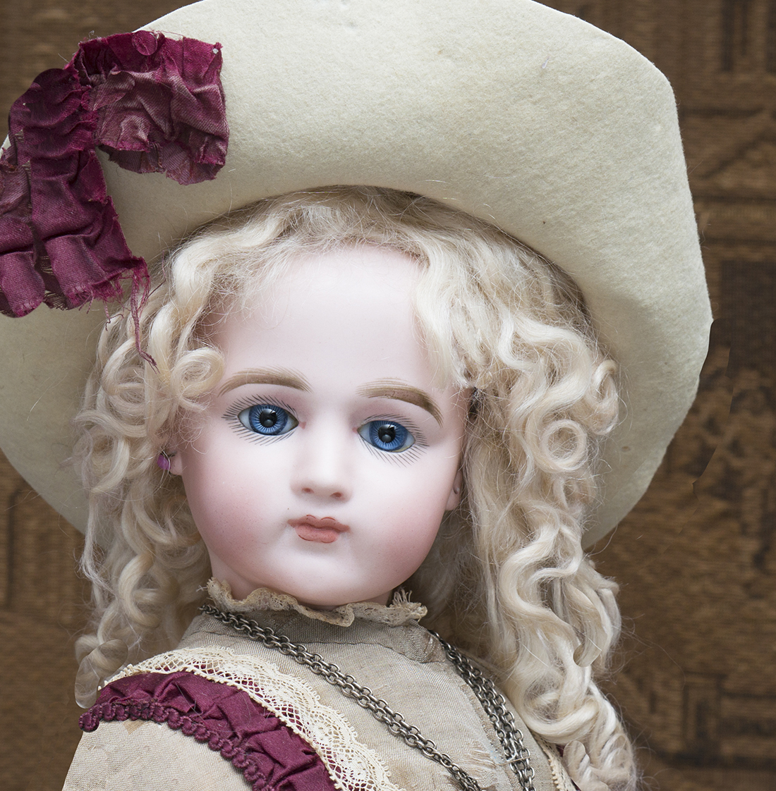 25in Portrait Fashion Jumeau doll