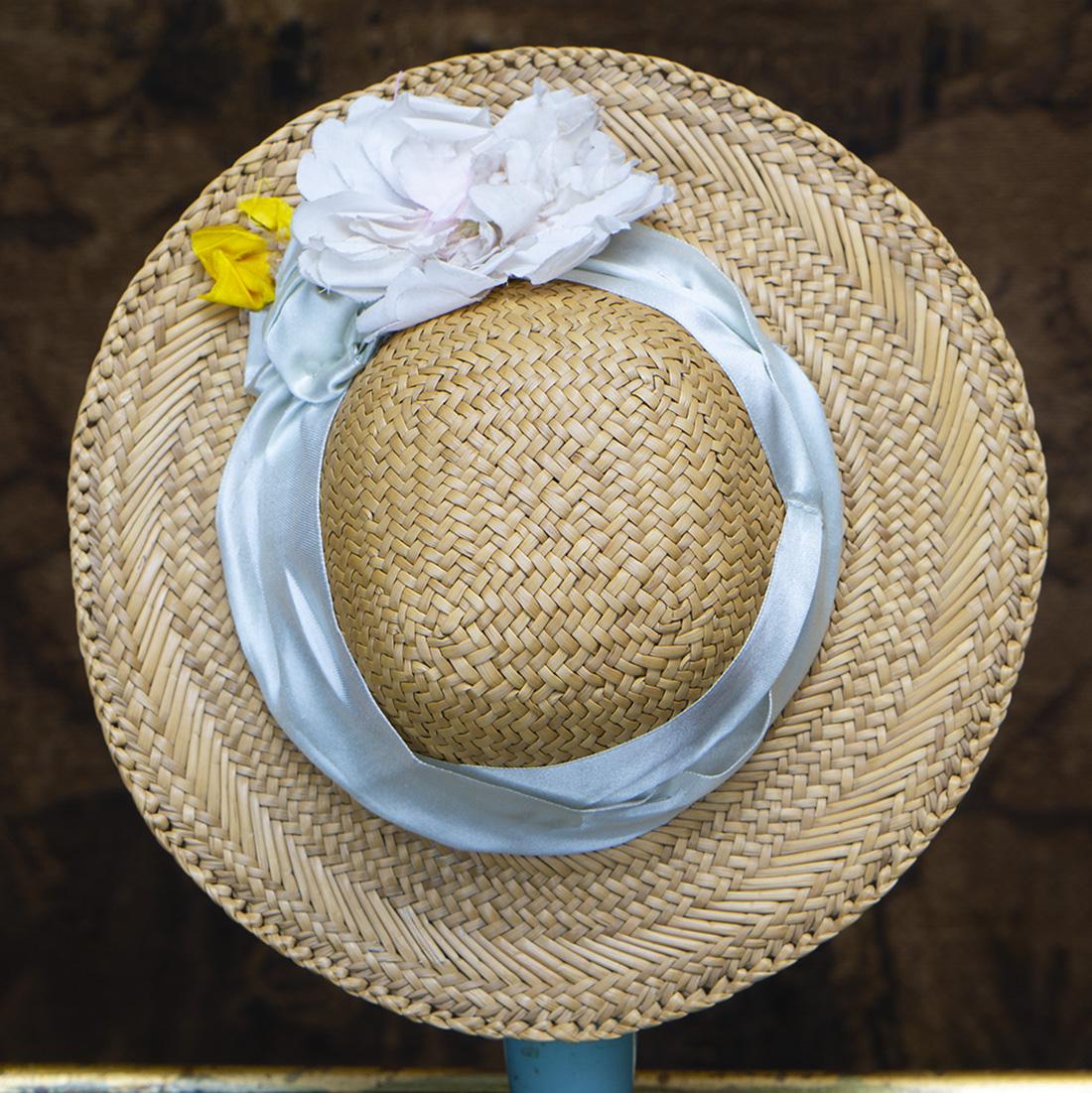 Antique Straw hat