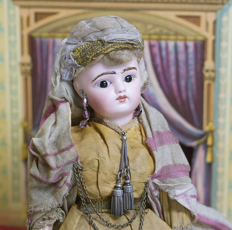 31см Кукла в мавританском костюме от Fleischmann &Blodel, 1890-е годы