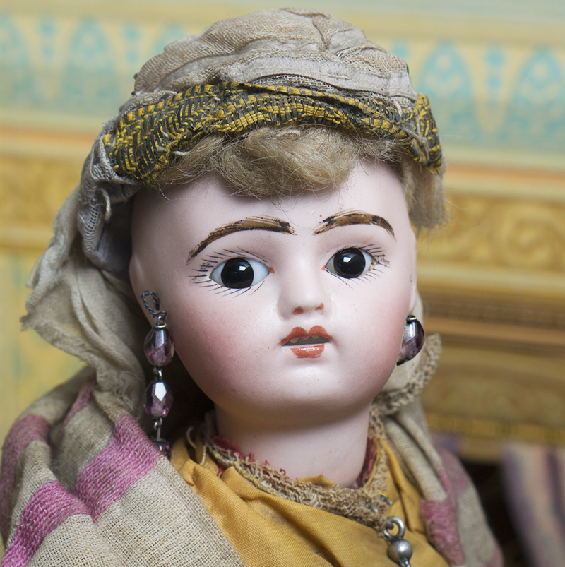 Antique French Doll in Moorish costume