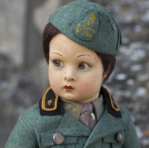 Rare Lenci Fascist doll