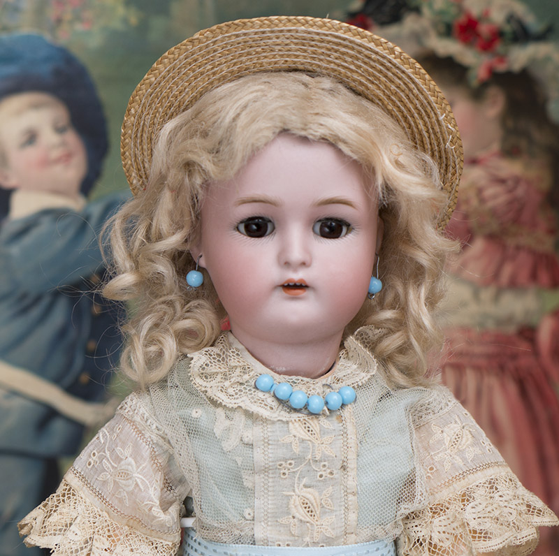 Antique German Bisque Child Doll