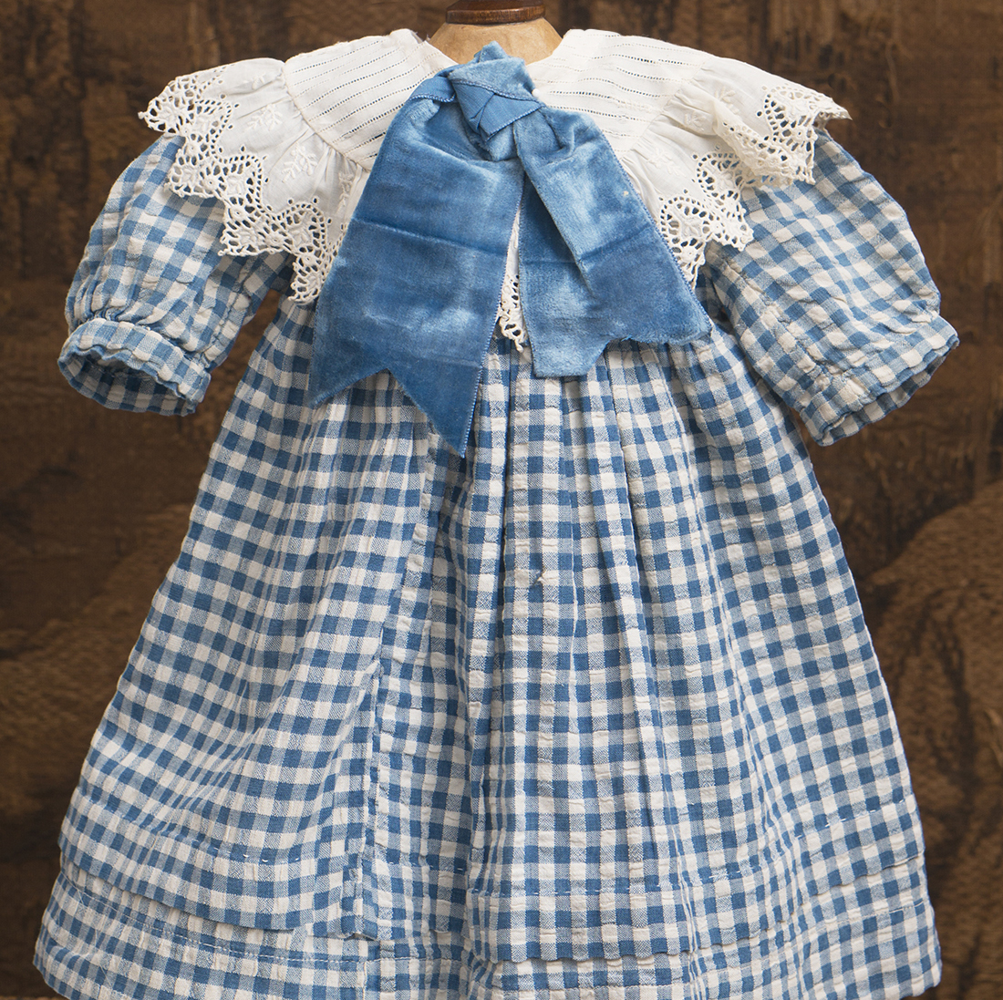 Antique Original Checkered dress