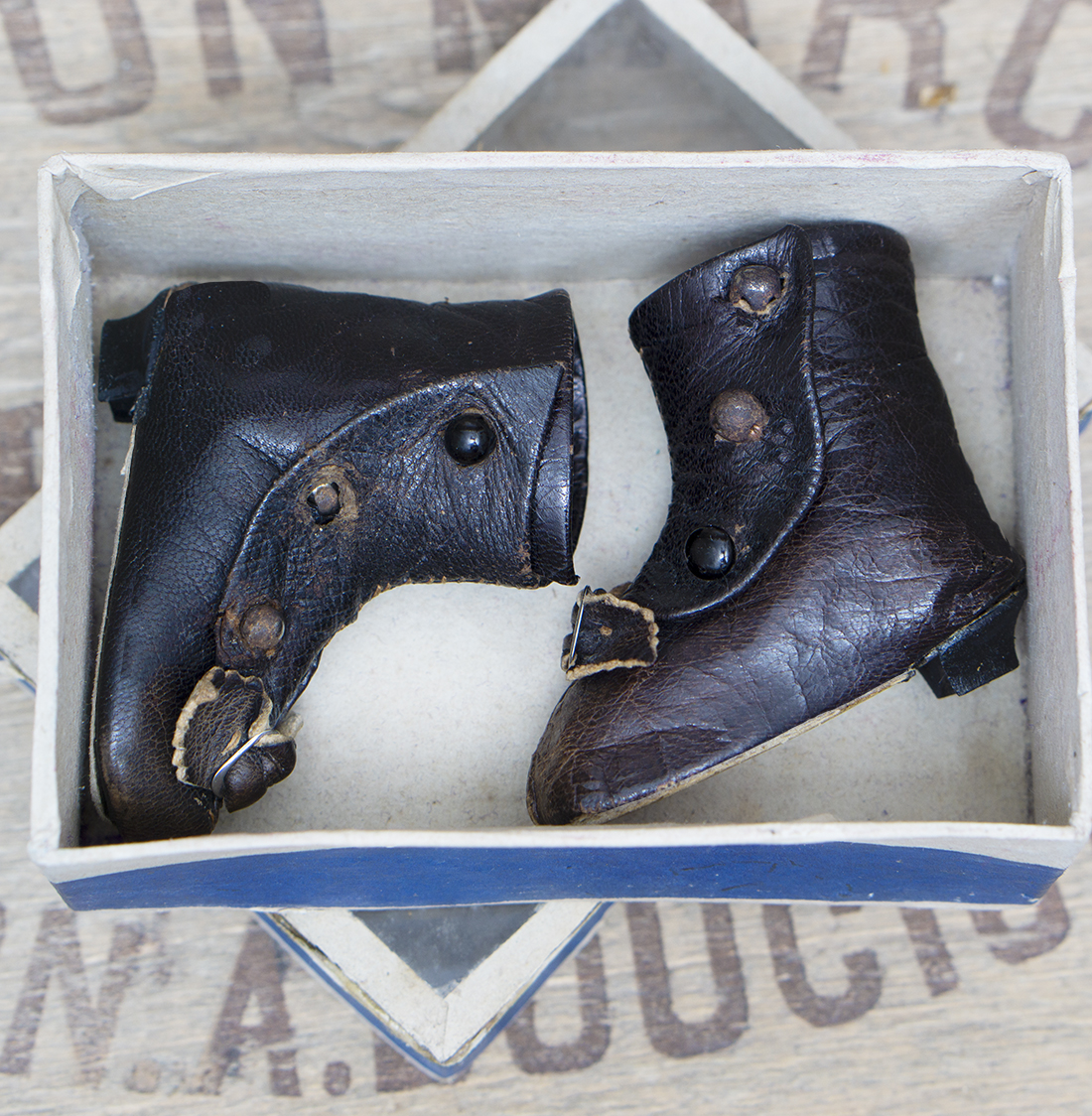 Antique french fashion  boots