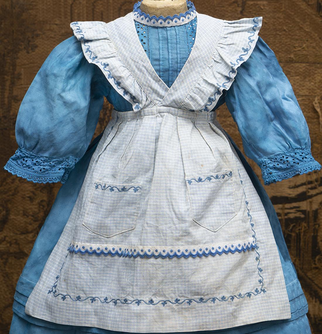 Antique dress and apron