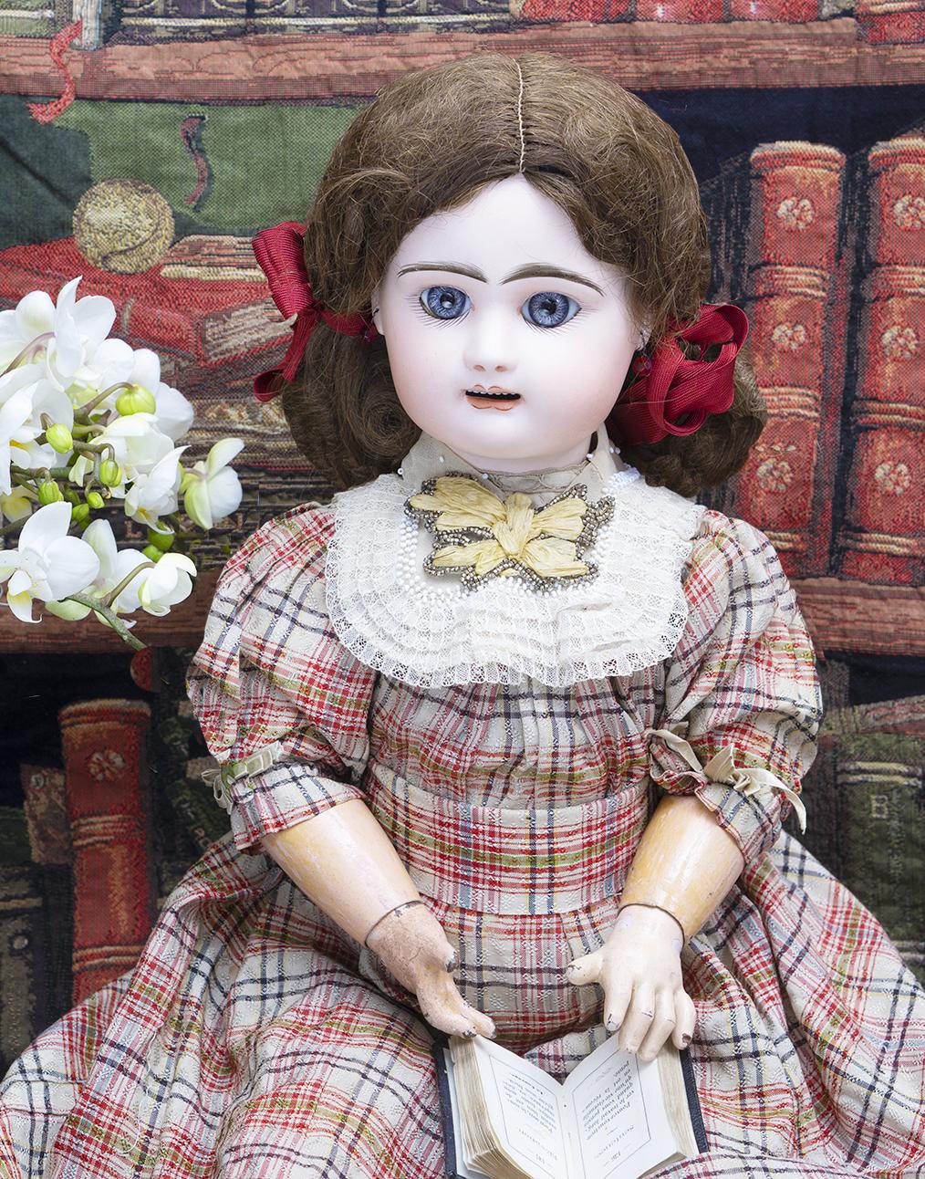 59 см Ранняя французская кукла компании Rabery and Delphieu
