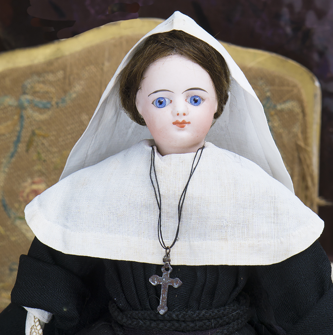 Antique Gaultier Nun Doll