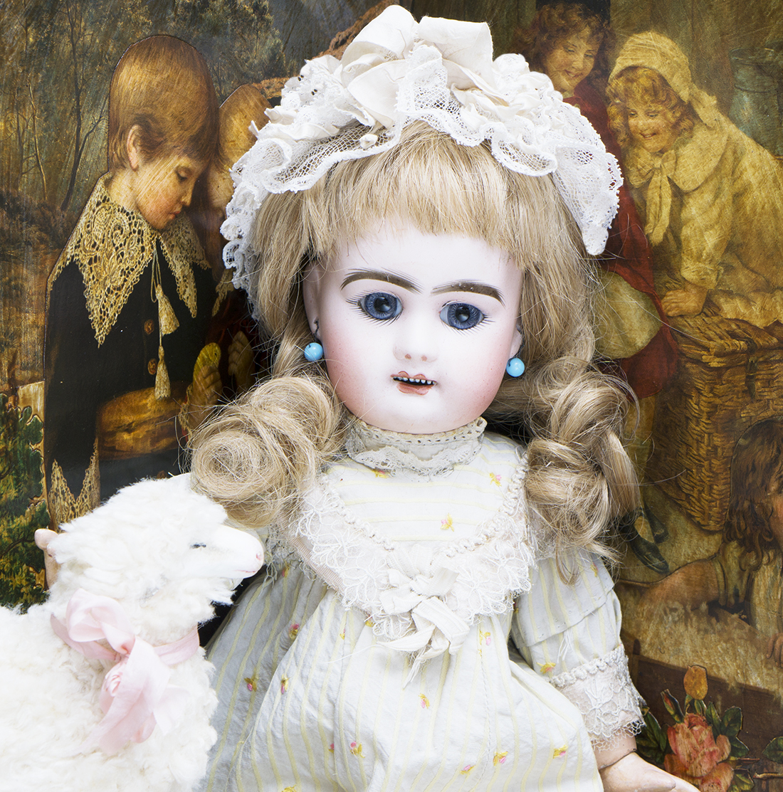 Denamur open mouth doll