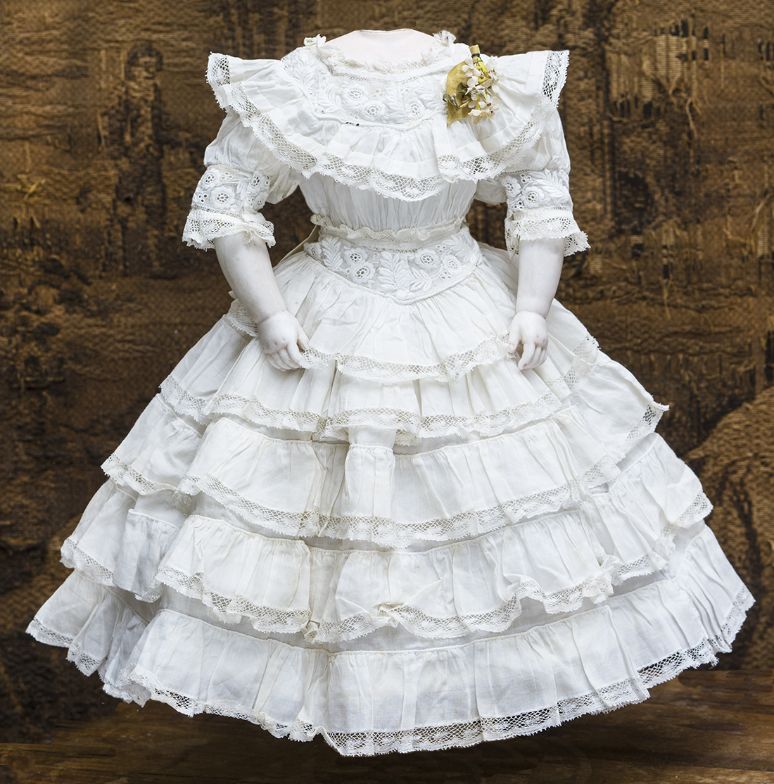 Antique dioll dress