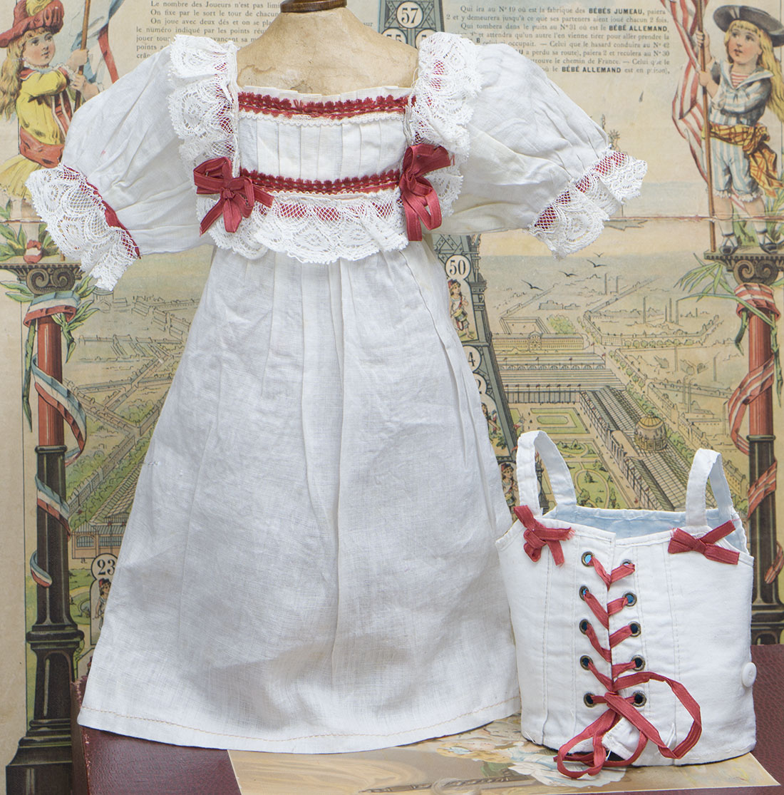 Antique doll set