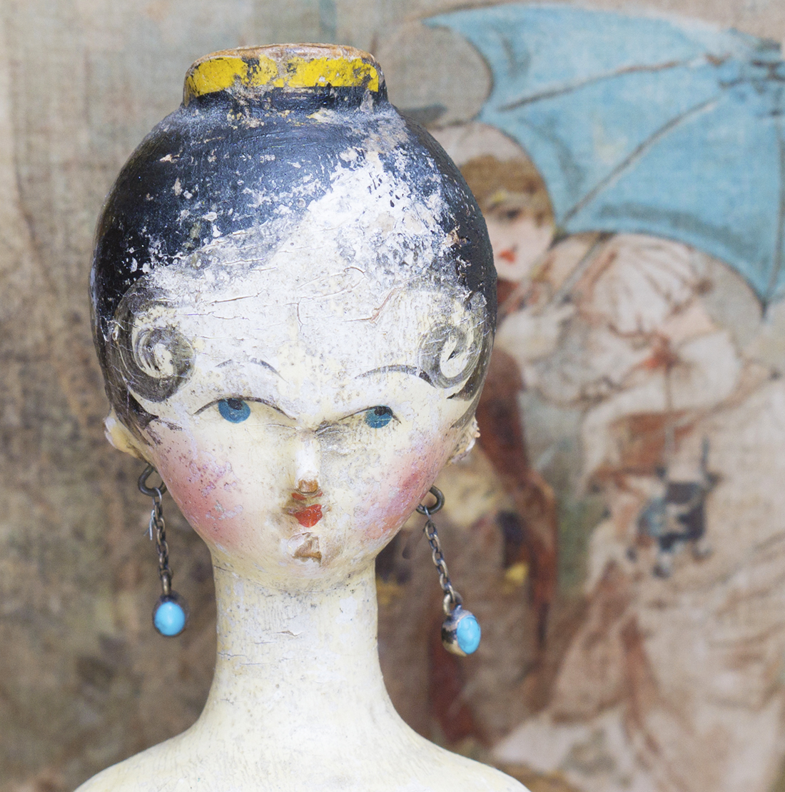A Grodnerthal doll