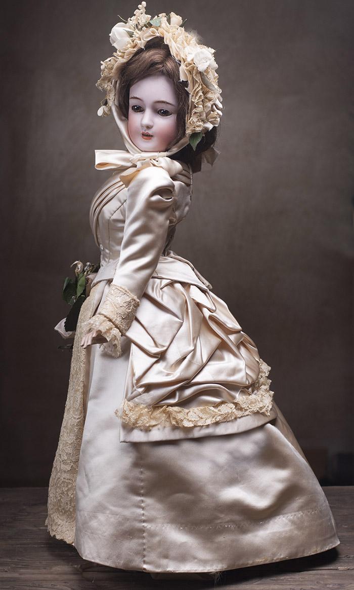 Очень редкая модель Кукла-Леди фирмы  Simon&Halbig, высота  55 cм