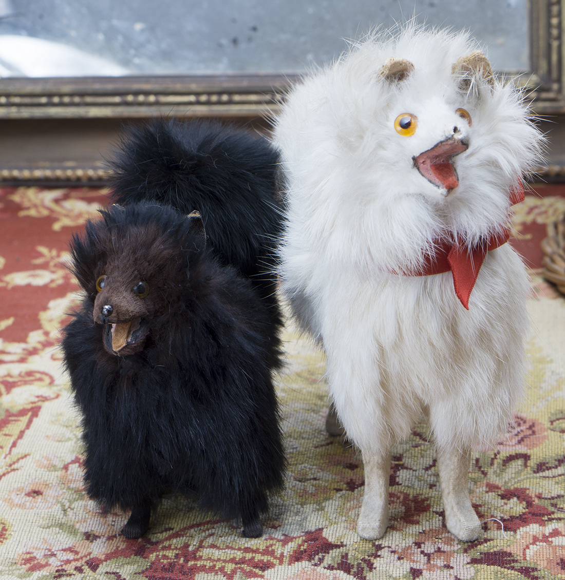 2 dogs for fashion doll
