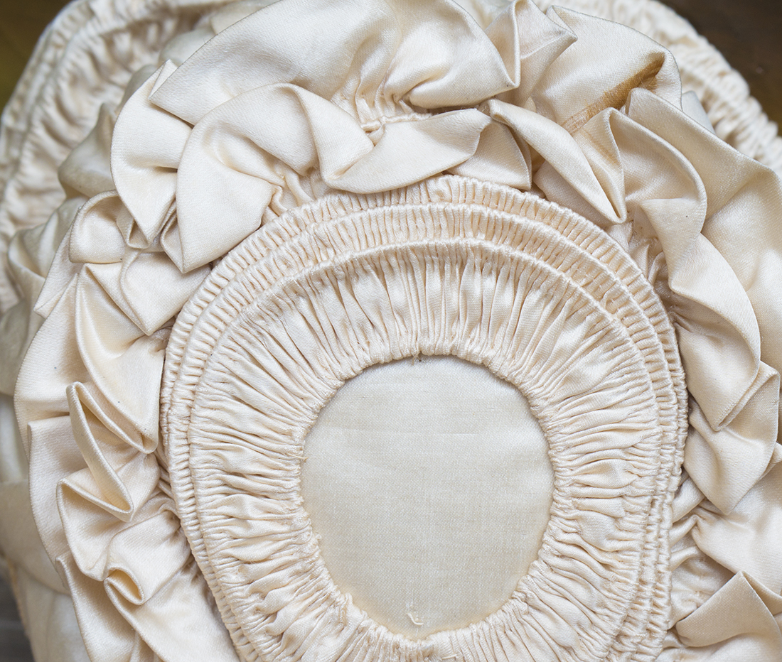 Antique Silk Bonnet