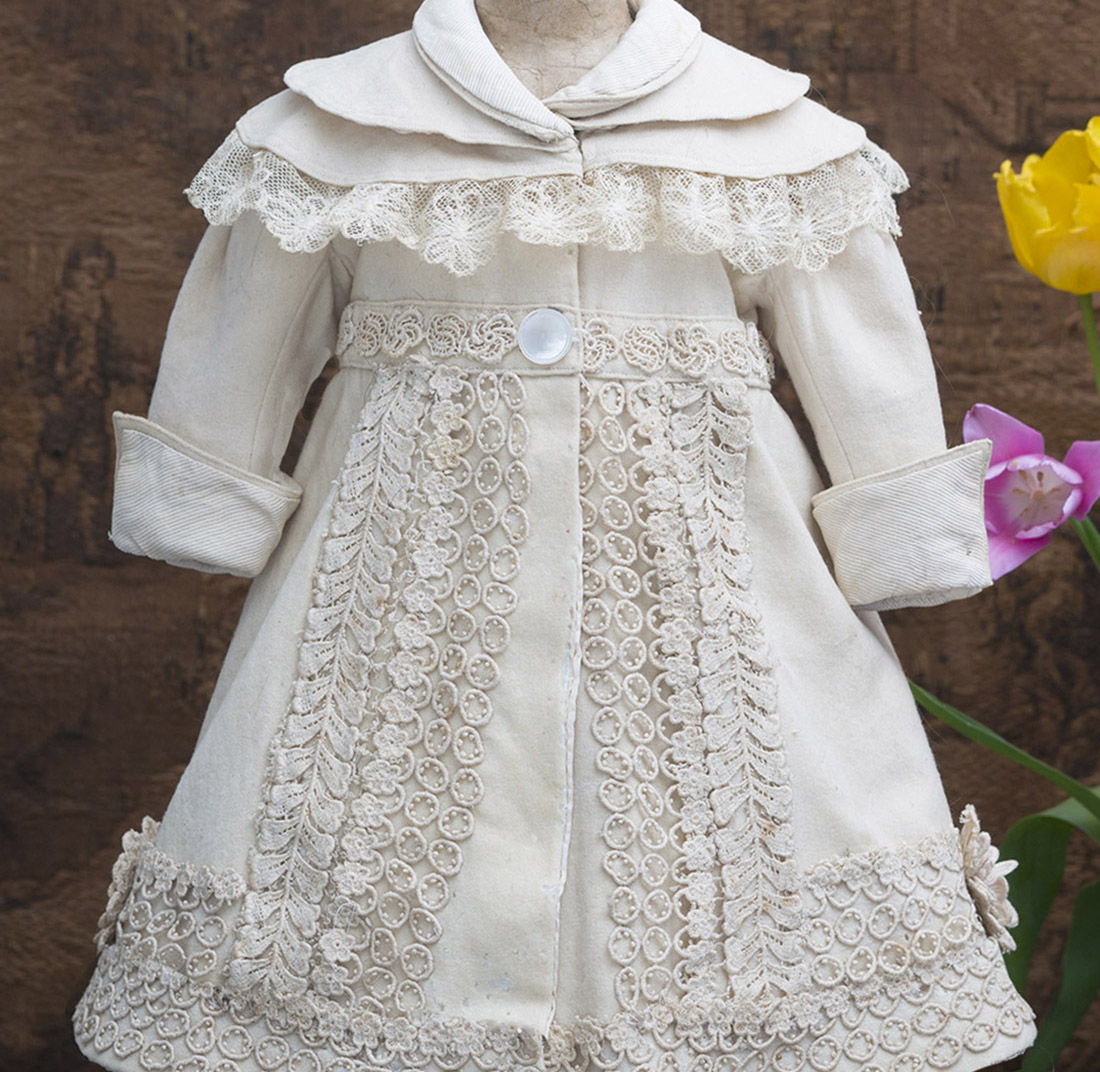 Antique doll coat