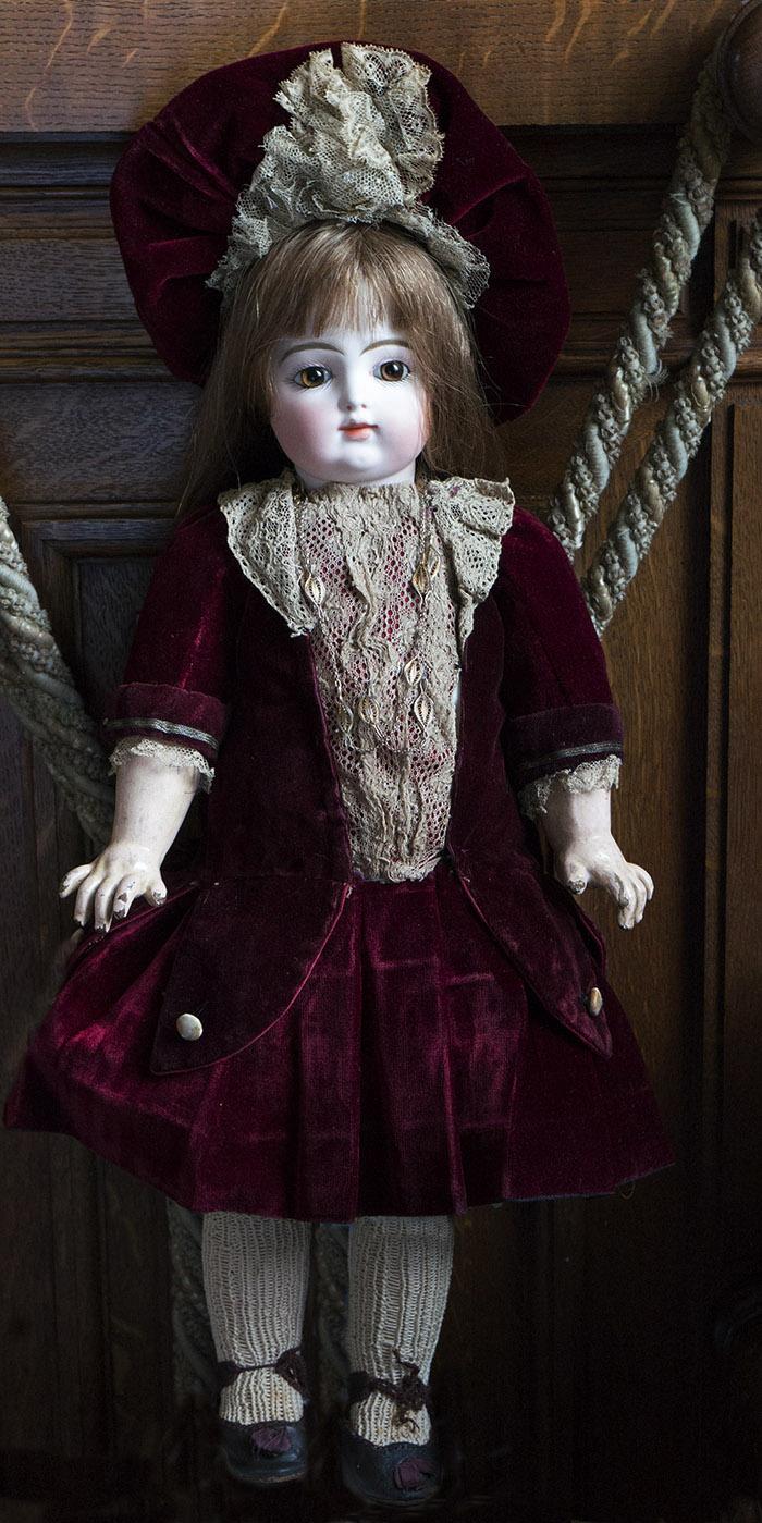 46 см. Кукла GAULTIER  с закрытым ртом, 1880е г.