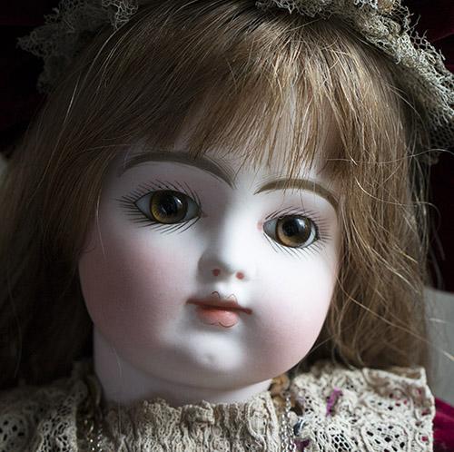 Кукла GAULTIER  с закрытым ртом, 1880е г.