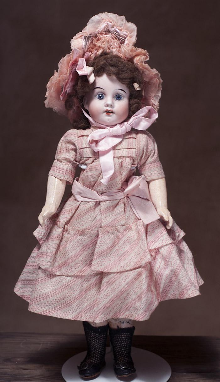 Кукла фирмы фирмы Gebr.Knoch, 42 см. высота, 1900-е годы