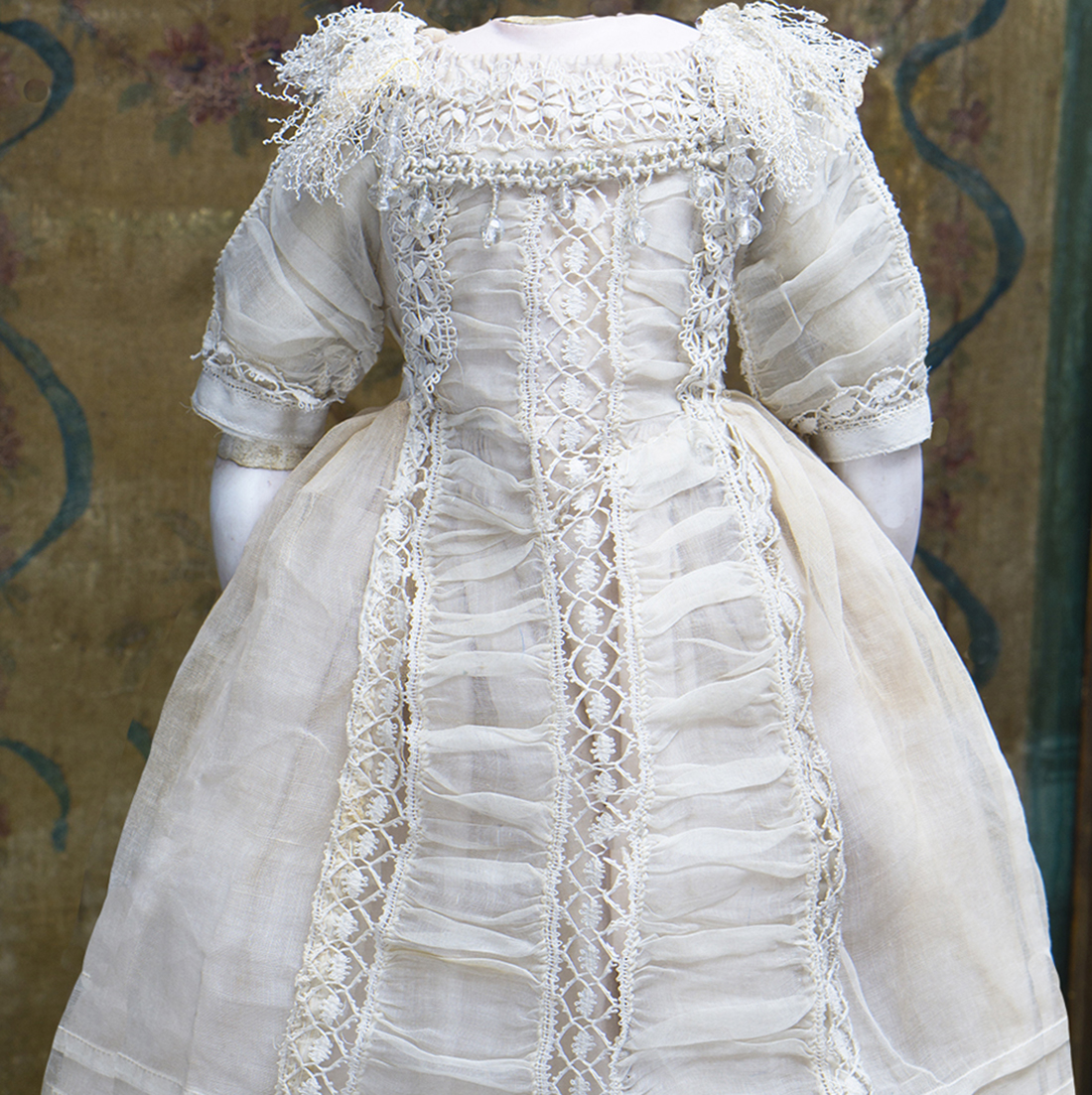 Antique Fashion doll dress