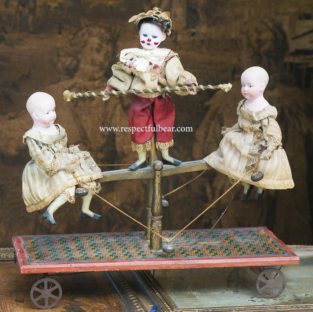 Antique German Pull Toy