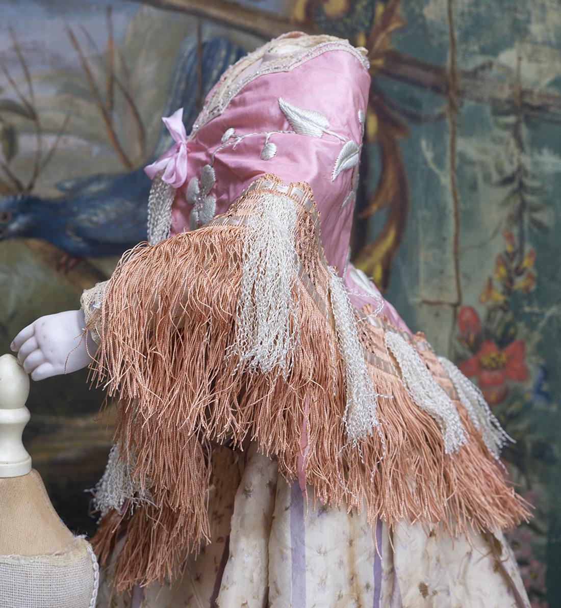 Antique Silk Shawl Cape