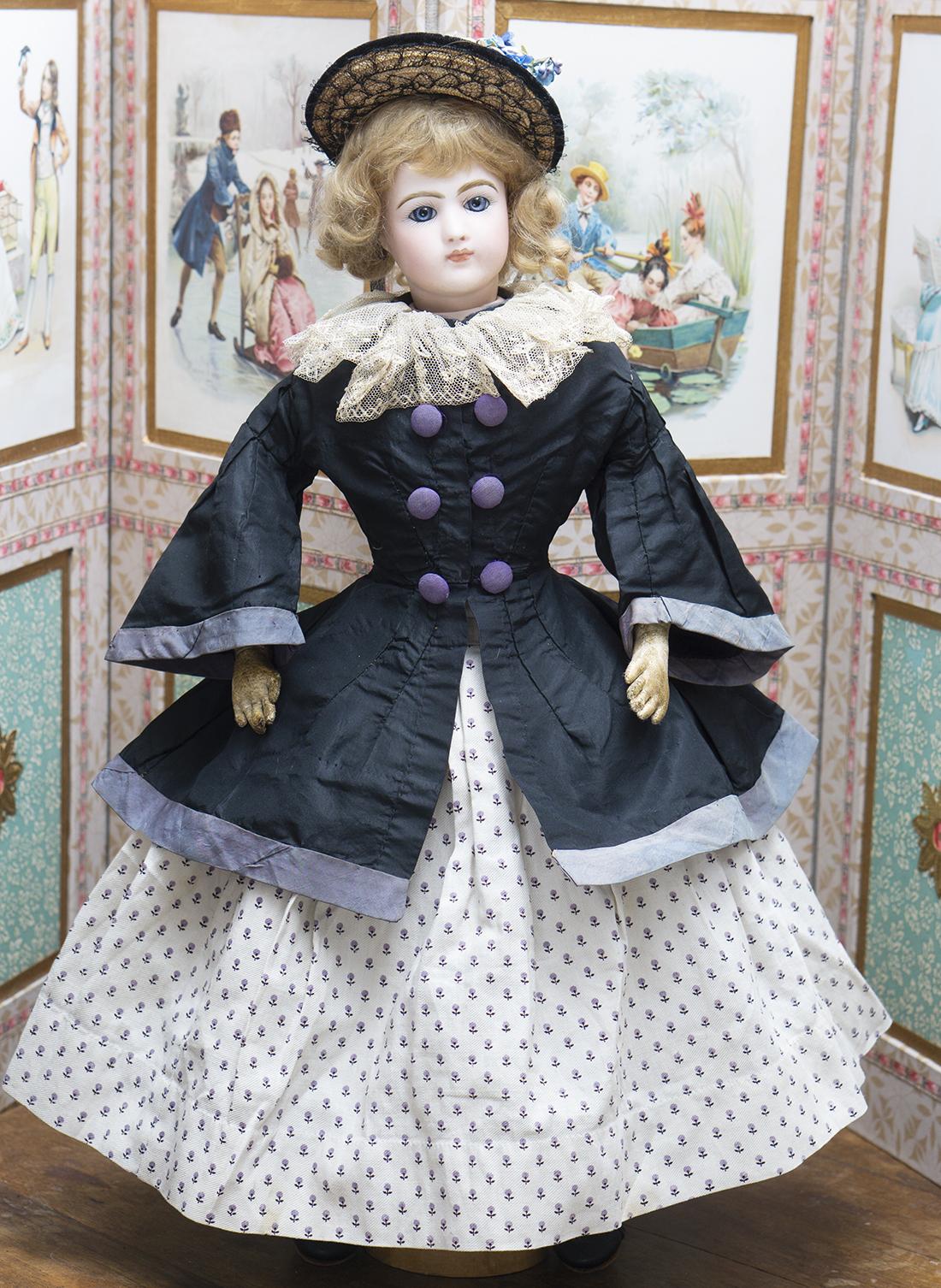 Оригинальный наряд для модной куклы