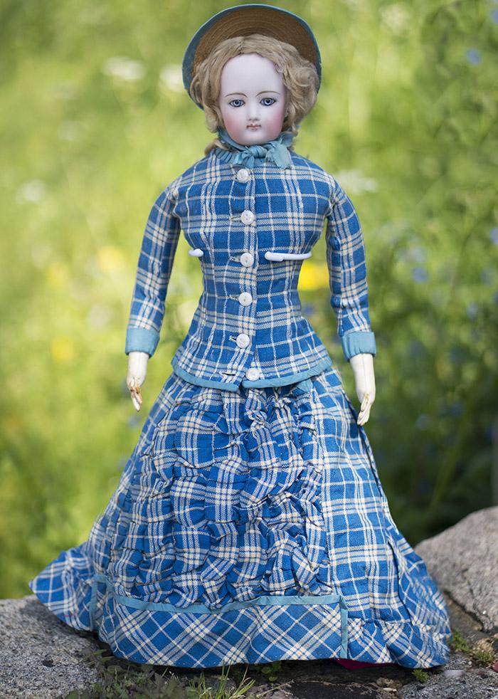 Большая Модная Кукла Готье 51 см, 1880е годы
