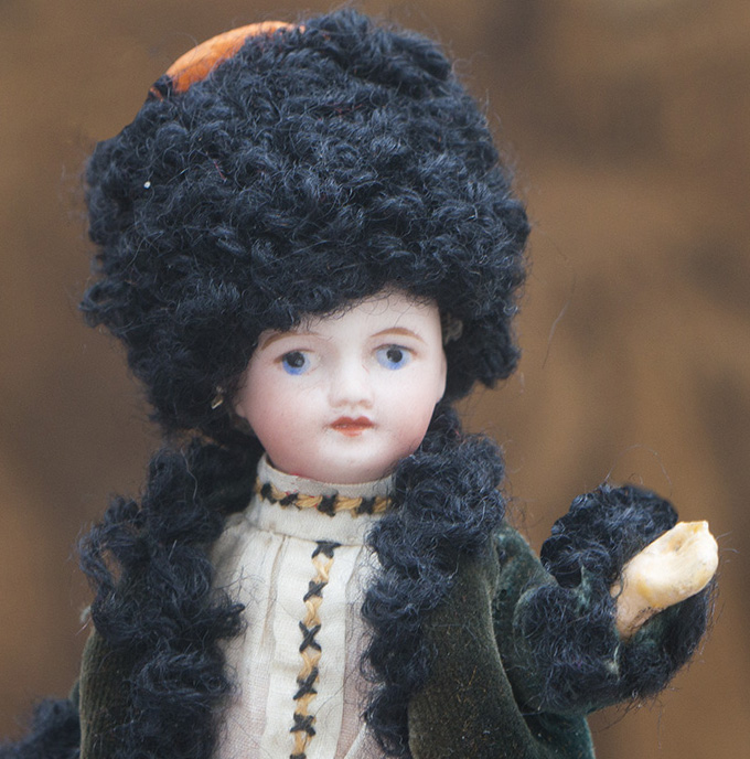 5in Mignonette in Russian Cossack Costume