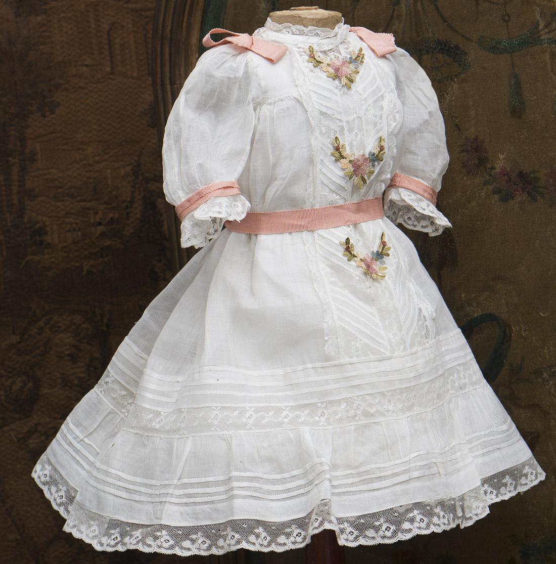 Antique Original Dress and Chemise