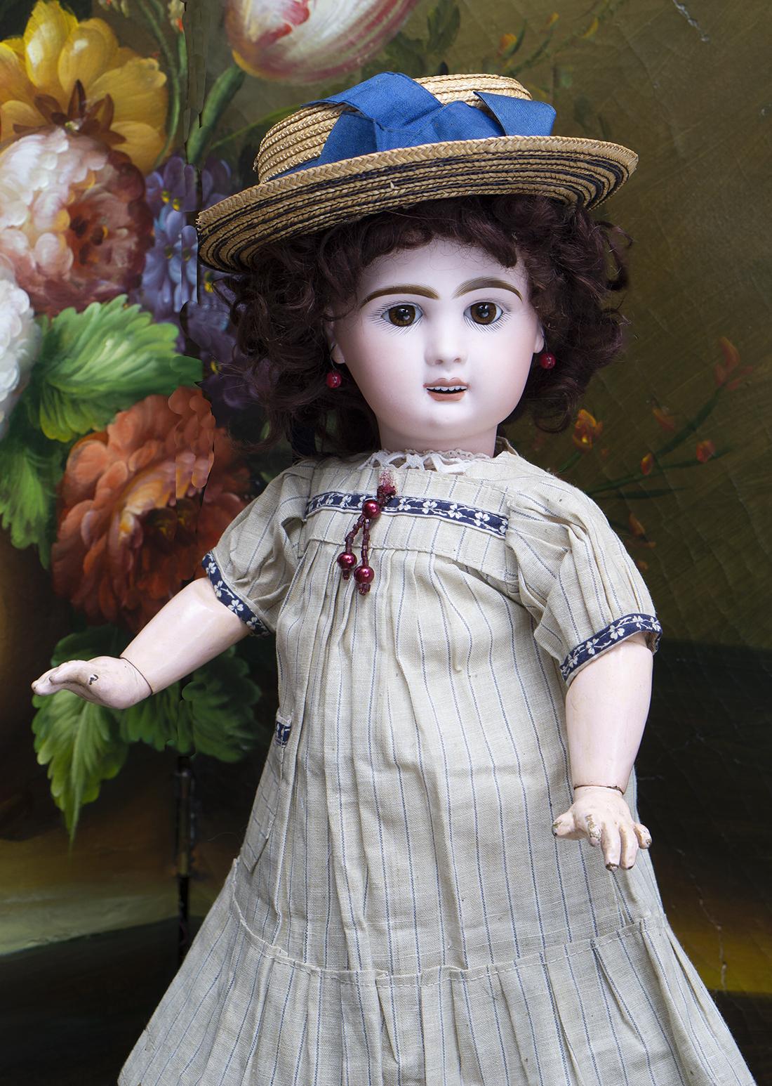 45см Редкая Кукла Bebe Louvre by Emile Jumeau