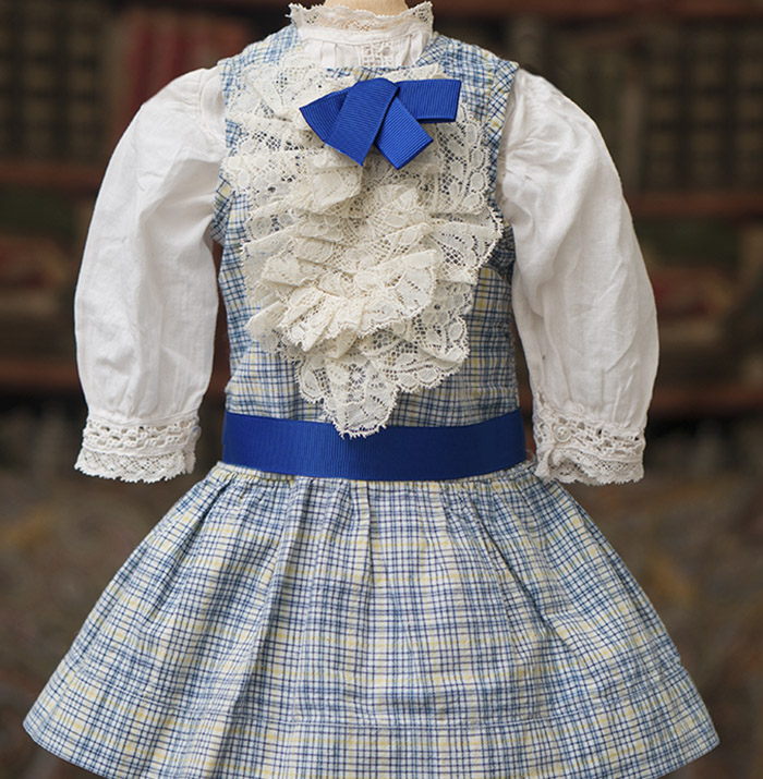 Antique Pinafore Dress & Chemise
